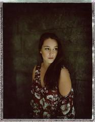Hold the line V (__Daniele__) Tags: mamiya universal polaroid fuji 100c analogue film analog portrait portret