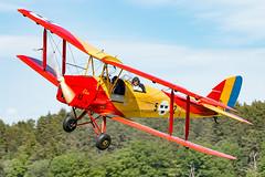SE-CHG DeHavilland DH.82A Tiger Moth (Morris) (Andreas Eriksson - VstPic) Tags: sechg dehavilland dh82a tiger moth morris built 1942