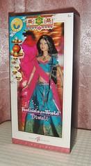2006 FOTW Diwali Barbie (1) (Paul BarbieTemptation) Tags: 2006 dolls world pink label festival collection diwali india katiana jimenez