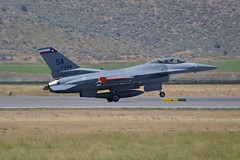 87-0344 (LAXSPOTTER97) Tags: airport airplane aviation klmt kingsley field 2017 sentry eagle open house airshow general dynamics f16c fighting falcon 149th 149thfw fighter wing squadron united states air force texas ang national guard 182nd 182ndfs lonestar gunfighters 870344 cn 5c605