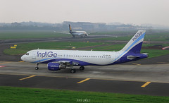 Indigo Airlines (vomm_aviationpictures) Tags: airplane grass city sky cockpit landscape airbus airbus320 airbus330 a320 a330 aviation airline airways aerodrome plane spotting planespotting photo photography canon canon1200d 1200d 55250mm len fog foggy weather climate
