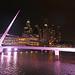 Argentina 2017 10-04 2 Argentina Buenos Aires Puente De La Mujer Night IMG_4746