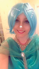 Cat shine (Elysia in Wonderland) Tags: shimmer shine marvellous events bob wig blue cat snapchat filter ears