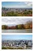 Automne à Montréal /Autumn in Montreal (Joanne Levesque) Tags: montréal montreal montroyal ville cityscape autumn automne buildings immeubles lacdescastors triptyque collage 2017 nikond7500