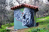 Little house (Pensive glance) Tags: graffiti image painting all mur mural streetart artderue