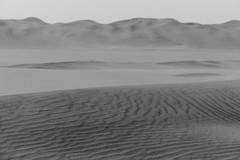 Every thing must change... (setoboonhong ( Back and catching up )) Tags: nature desert sand dunes patterns shifting wind quad bike excursion swakopmund namibia bw change hmbt