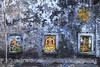 Marks~! (SidhArcheR) Tags: varanasi 6d sidharcher gods hindu hinduism wallpainting wallart colorsofindia india incredibleindia northindia up streetphotography siddharthanraman 50mmf14