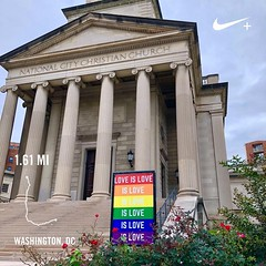 #activetransportation #DC Always and in all ways. PS yes, it always wins ️‍🌈🌎🚶#mostinclusivecity