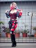 Harley Quinn (Endlessly1692) Tags: comic con comicconecuador 2017 anime expo convention comics dccomics irina meier captain irachka cosplayer cosplay costume make up harleyquinn harley quinn