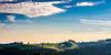 Chüemoos - morning light (uhu's pics) Tags: panorama lumière light licht matin morning morgen outdoor nature natur campagne landscape landschaft vert green grün bleu blue blau friedlich peaceful ruhig sensuel sensual sinnlich arbres trees bäume nuages clouds wolken ciel sky himmel ferme farm bauernhof collines hills hügel dürrenroth emmental bern suisse switzerland schweiz 35mm xpro2 xpro fujinon fuji fujifilm
