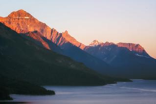 Waterton Lakes Sunset