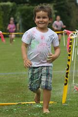 (Paul J's) Tags: event hawera taranaki hickspark park southtaranakilionswalkforkids colourrun boy