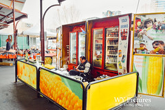 Melbourne 2017: A Food Vendor At The Queen Victoria Market (Wing Yau Au Yeong) Tags: australia foodstore melbourne queenvictoriamarket shop shopkeeper streetphotography vendor waiting victoria au