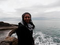 Janelle in Cinque Terre (MN Mini) Tags: nikon coolpix l330