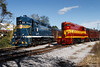 Two Restored Beauties (jwjordak) Tags: ncstl 80 doublestacks gp38ac tag gp7 710 museum chattanooga tennessee unitedstates us