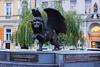 Památník Okřídleného lva (annz0r) Tags: czechrepublic prague památníkokřídlenéholva malastrana wingedlion