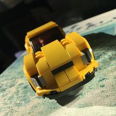 75880 alternate model (KEEP_ON_BRICKING) Tags: lego speed champions 2017 moc model custom design car vehicle sportscar yellow remake rebrick alternate keeponbricking