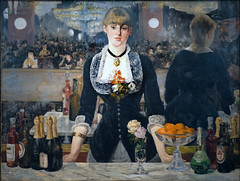 Manet, A Bar at the Folies-Bergère, 1882