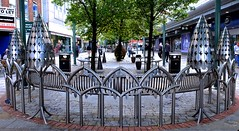 Get to the point (HBM!) (violetchicken977) Tags: benchmonday bench metalwork gothic