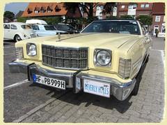 Ford Gran Torino Elite, 1976 (v8dub) Tags: ford gran torino elite 1976 allemagne deutschland germany niedersachsen cloppenburg american pkw voiture car wagen worldcars auto automobile automotive youngtimer old oldtimer oldcar klassik classic collector