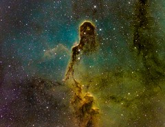 Close Up to Elephant Trunk Nebula (IC1396) HST (Carballada) Tags: astrophotography astronomy deep space astro celestron zwo as1600mmc skywatcher ts sky qhy qhy5iii174 narrowband