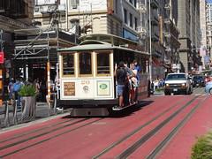 201709037 San Francisco Cable car (taigatrommelchen) Tags: 20170938 usa ca california sanfrancisco tenderloin city railway railroad mass transit tram train street
