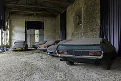 House of cars, FRA (*PicturWall iLOVEyourHOME*) Tags: picturwall love your home canon 60d 10 mm 6d 1635 f4 urbex exploration urbaine urban decay abandoned forgotten lost place abandonné oublié désaffecté friche abbandonato incolto dimenticato verlassen vergessen brache geschlossen abandonado olvidado baldío lr lightroom hdr photomatix car voiture citroën ds lamborghini espada 1968 1978 fr fra france