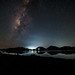 The milky way above the Catemaco