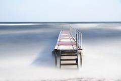 Beaufort 6 (Explore) (waldo.posth) Tags: sony a99ii sigma art f4 24105mm 75mm sea footbridge long exposure nd 15stop