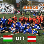 U11 vs. Györ Sharks 7. Okt. 2017