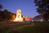 Fountains Abbey at night (paulcollingwood2599) Tags: fountains abbey illuminations night dark north yorkshire england studley ruins religion ripon