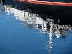 Transatlantic (MKP-0508) Tags: rhein rhine rhin nackenheim reflection spiegelung wasser aqua water eau boote boats bateaux schiff ship blau blue bleu azur