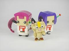 Team Rocket Assemble ! (YOS Bricks) Tags: lego pokémon brickheadz meowth