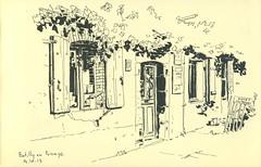 Batilly-en-Puisaye (lolo wagner) Tags: urbansketchers usk croquis sketch batillyenpuisaye loiret