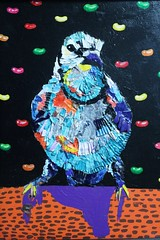 IMG_1621 (Colleen Sparlin) Tags: bird acrylic art paint chips