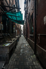 (astrowerx) Tags: huangpudistrict shanghai peoplesrepublicof china alley residential block