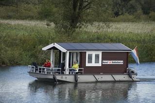 Blokhutboot in de Biesbosch 15-09-2017