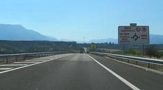 A-23-7 (European Roads) Tags: a23 autovía jaca sabiñánigo huesca aragón españa spain