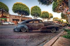 1942 chevy fleetline (pixel fixel) Tags: 1942 artshow bridgetown chevrolet chromeandpaint fleetline lowdowninuptown rust whittier