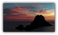 Série: Sunset on Vedra n° 6 (jldum) Tags: sunset sunrise sun coucherdesoleil soleil vedra espagne clouds nuage sea eau water sony sonyilca99m2 explorer explore île island