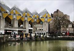 Роттердам, Голландия, Кубические дома (zzuka) Tags: rotterdam netherlands роттердам голландия