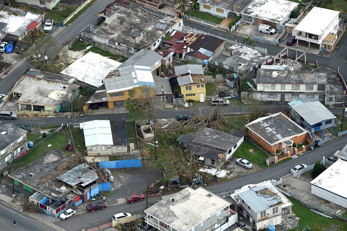 From flickr.com: Hurricane damage in Puerto Rico {MID-172747}