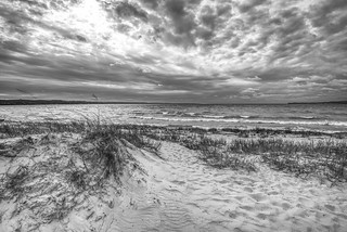 Petosky Dunes and Little Traverse Bay