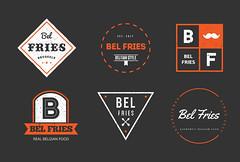Bel Fries badges
