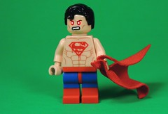 I'll Get Out!!! (MrKjito) Tags: lego minifig super hero comics comic dc superboy prime man infinite crisis on earths prison green latern scar hope symbol evil villain