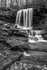 Smooth (Lee of Western PA) Tags: bw waterfall smooth slow flow pennsylvania