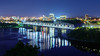 Alexandra Bridge from the Parliament Hill (Memory Trigger) Tags: bridge quebec ontario ottawa gatineau night river water nikon d7200 1755