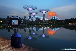 Atomic Bomb Cloudscape, Flower Dome of Gardens by the Bay *Corners of Singapore*