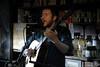 Daoiri Farrell @ Secret Song - Levis Corner Bar by Jason Lee