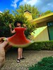 Juicy Dress (meredith2277) Tags: forcedperspective watermelon women mom summer summertime playful 4thofjuly saturation colorful watermelondress